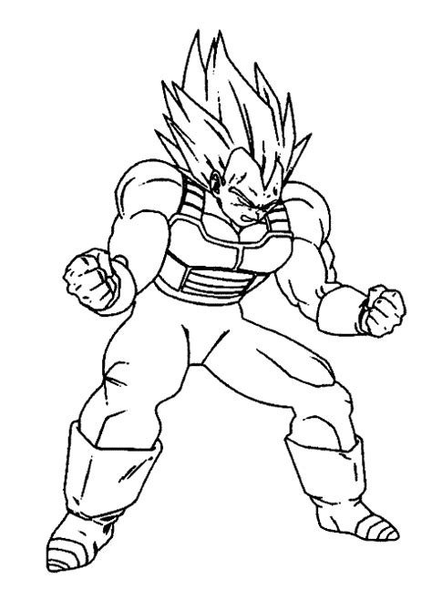 dragon ball z quot vegeta quot super saiyan prince coloring books