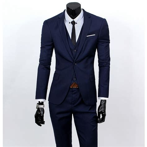 New Men Suits One Buckle Brand Suits Jacket Formal Dress