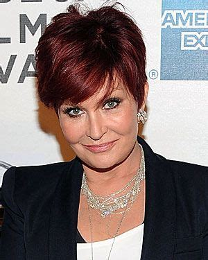 what does sharon ozbournes hair look like in the back sharon osborne plastic surgery a reveal all facts brought