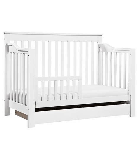 Baby Crib Convert Toddler Bed Davinci Piedmont 4 In 1 Convertible Crib Toddler Bed Conversion Kit White
