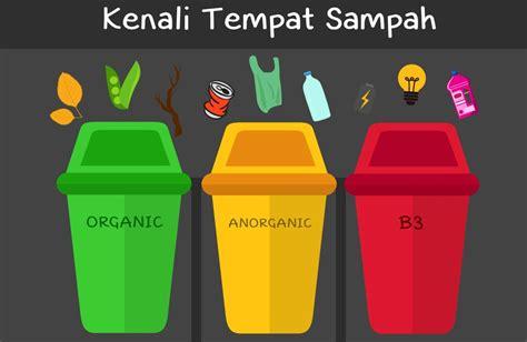 empat jenis tempat sampah  perlu diketahui