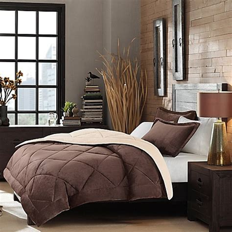 velour comforter set beyond soft velour reversible comforter set bed bath