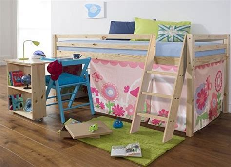 cabin bed with futon and desk best 25 cabin bed with desk ideas on pinterest