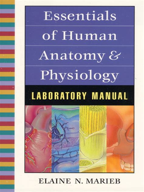 laboratory manual for anatomy physiology 6th edition anatomy and physiology marieb essentials of human anatomy and physiology lab