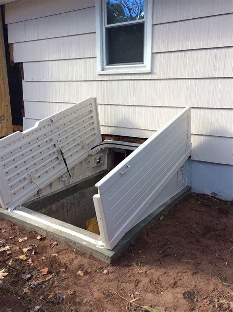 insulated basement door is it time to replace your basement doors with bilco