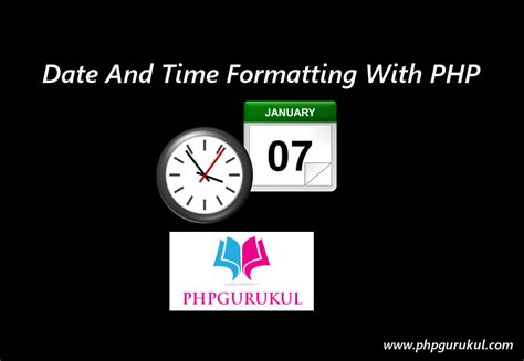 php reformat date date and time formatting with php phpgurukul
