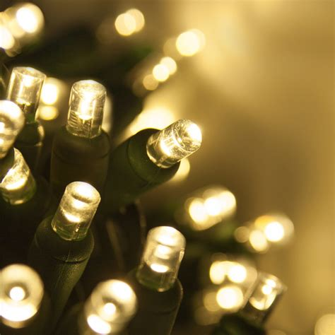 5mm warm white led christmas lights