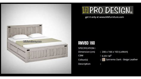 Ranjang Kayu Ukuran 160x200 rmvbd 160 ranjang laci minimalis romanov pro design
