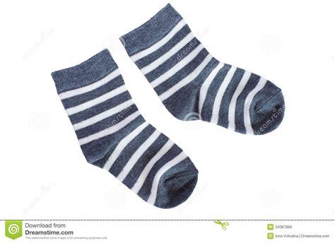 sock background gray striped baby socks on white background royalty free