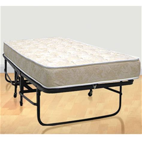 folding cot bed complete metal folding cot with springs and premium foam mattress elitedecore com