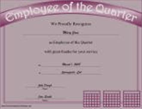 employee of the quarter certificate template business certificates free printable certificates