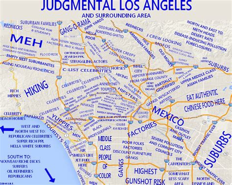 houston judgemental map judgmental maps what everyone really thinks about your