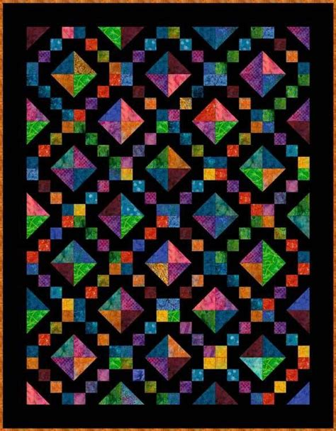 Quilt Pattern Jewel Box | free quilt patterns for beginning to experienced quilters