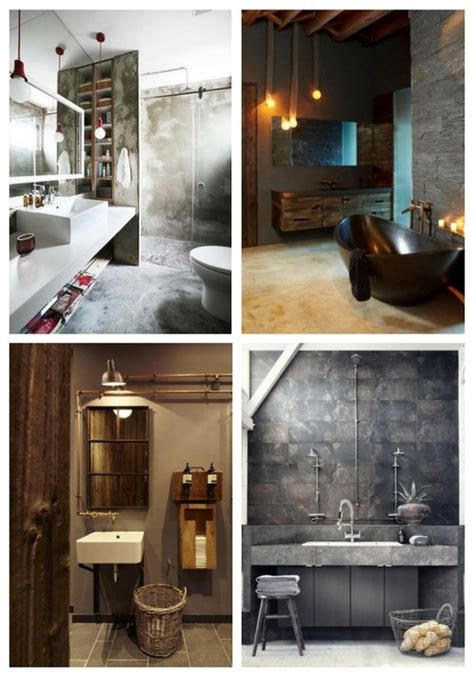 vintage bathroom decor ideas 33 industrial bathroom decor ideas comfydwelling com