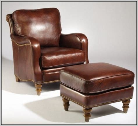 Classic Leather Chair And Ottoman Design Ideas Leather Chair And Ottoman Sam S Club Chairs Home Decorating Ideas Hash