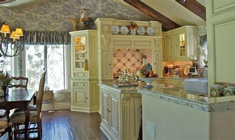ways  create  french country kitchen interior