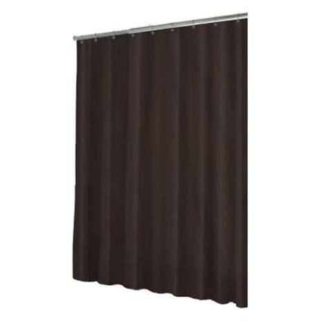 Shower Liner Home Depot by Home Decorators Collection Hotel 70 In W Chocolate