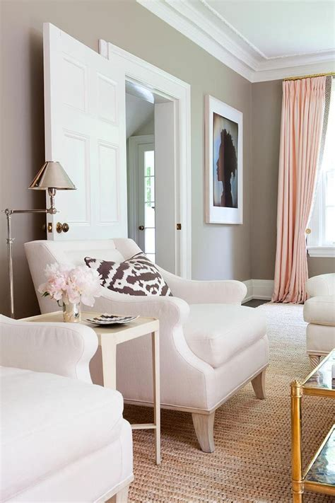 pink and gold living room pink gold gray living room with white linen sofa pink curtains with gold hardware and gold