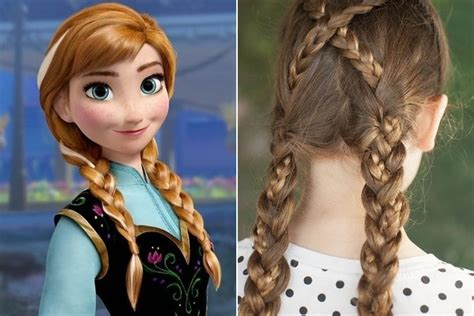 Frozen Hairstyle For Free by Frozen Inspired Hairstyles Www Pixshark Images