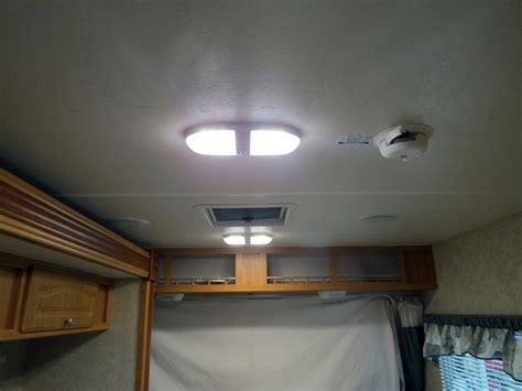 Rv Interior Lighting Fixtures Rv Lighting Fixtures Interior How To Update Rv Interior Lighting Mountainmodernlife Www Hempzen