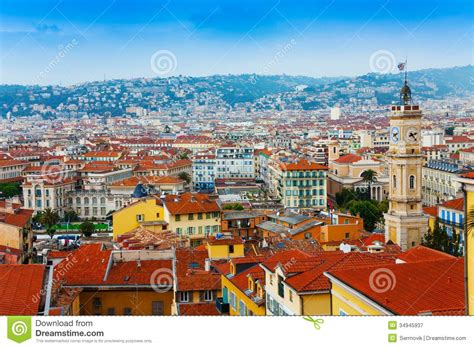 House Building Plans With Prices by Roofs Panorama Of Nice France Royalty Free Stock