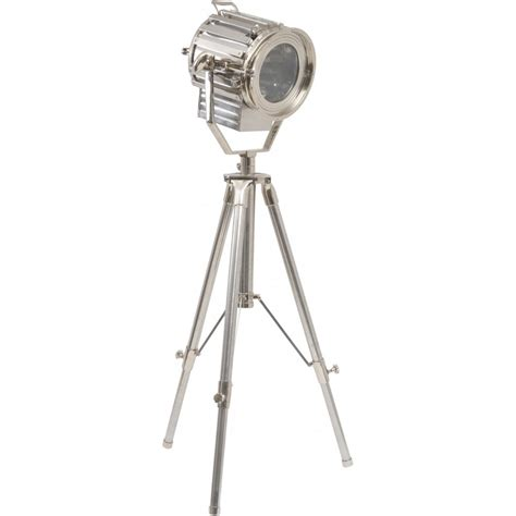 buy libra large nickel studio tripod floor lamp  fusion living