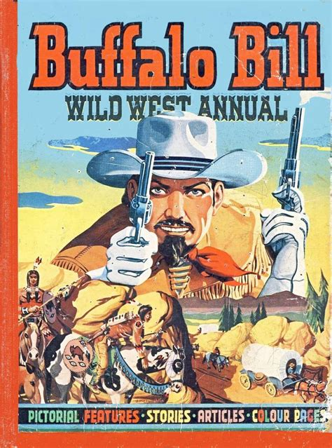 song book walden west buffalo bill west annual 1951 uk comic books