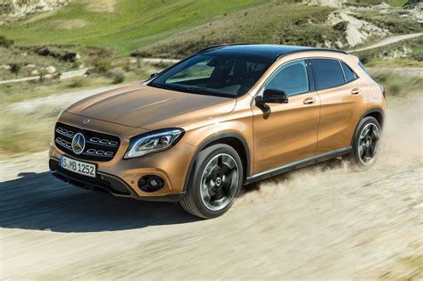 New Mercedes Gla Coupe by Mercedes Gla 2017 Facelift Merc Gets The Mascara Out By