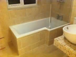 En Suite Bathrooms Ideas full tiled bathroom floor walls amp bath panel 171 tiler in