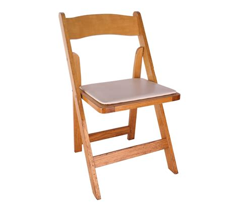 wood folding chair chair oak wood folding chair with padded seat