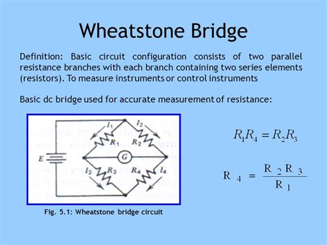 wheatstone bridge how it works dc ac bridges part 1 dc bridge ppt