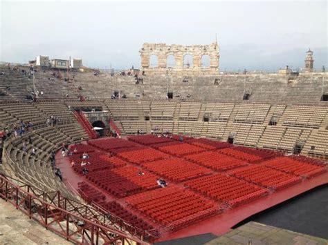 arena di verona interno veduta dall alto dell interno dell arena picture of