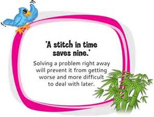 A Stitch In Time Saves Nine Essay a essay on a stitch in time saves nine free essays