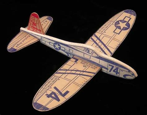 this balsawood glider sold for a dime back in the 1950 s