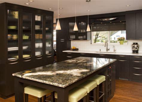 Bellevue Contemporary Kitchen Contemporary Kitchen Kitchen Design Seattle