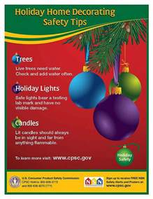 decoration safety decorating safety holliday decorations