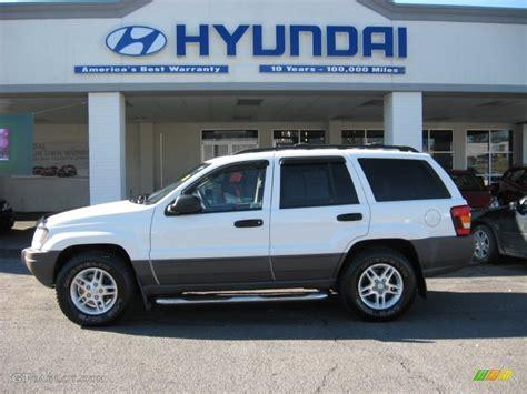 2003 white jeep grand laredo 4x4 59375563 gtcarlot car color galleries