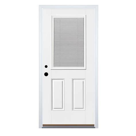 Shop Therma Tru Benchmark Doors Blinds Between The Glass In Glass Blinds Exterior Door