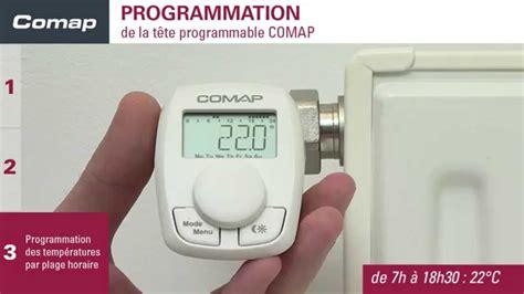 Démonter Un Robinet Thermostatique De Radiateur by Comment Monter Une T 234 Te Thermostatique Programmable Comap
