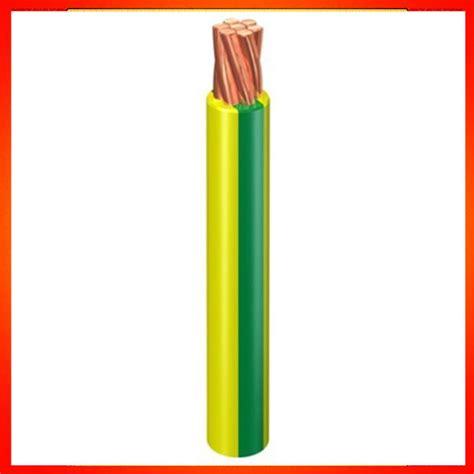 pvc insulation green yellow 2 5mm 4mm 6mm 10mm grounding