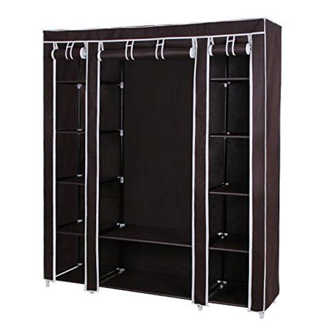 Enclosed Garment Rack by 17 Best Ideas About Portable Clothes Rack On