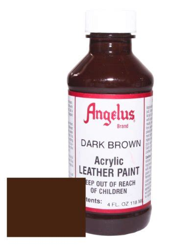 angelus paint discount angelus acrylic leather paint 4oz brown