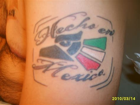 mexico tattoo pin hecho en mexico on
