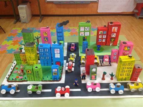 como hago una maqueta con material reciclable resultado de imagen de como hacer una maqueta de ciudad