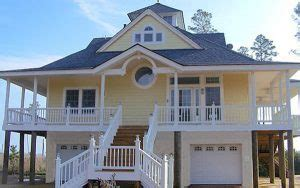 waterfront house plans on pilings waterfront piling house plans house design plans