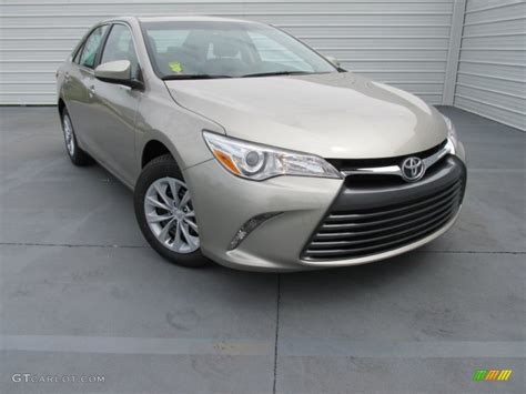 Toyota Camry Creme Brulee 2015 Creme Brulee Mica Toyota Camry Le 103323539 Photo
