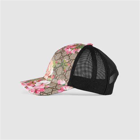 gucci gg blooms baseball hat in multicolour lyst