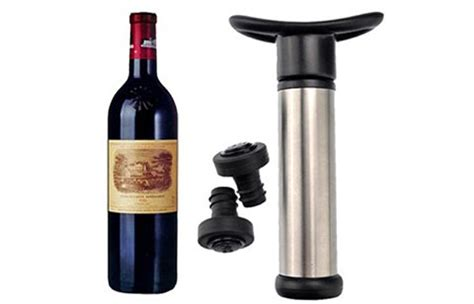 Tutup Botol Wine Vacuum Sealed wine bottle vacuum sealer
