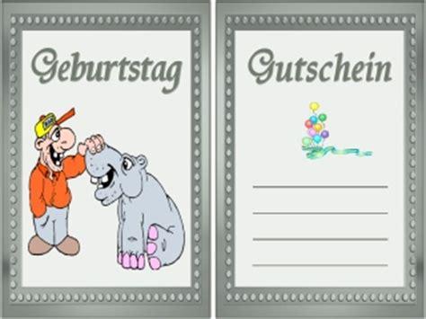 Kostenlose Vorlage Gutschein Geburtstag Gutschein Vorlage Kostenlos