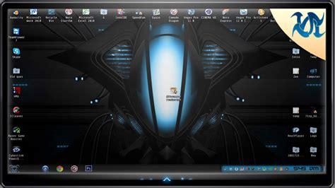 alienware theme for windows 7 kickass windows 7 theme alienware evolution youtube